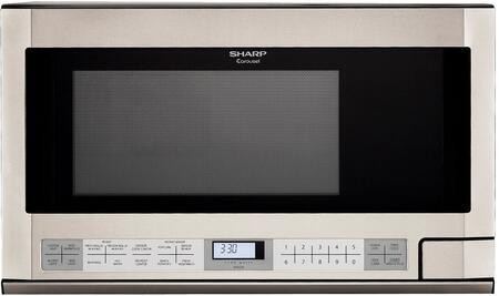 R1214TY 24 Over the Counter Microwave with 1.5 cu. ft. Capacity  1100 Watt  Turntable  11 Sensor Cook Options  and 11 Cooking Power Levels  in