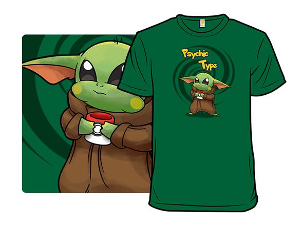 Next Gen Psychic Type T Shirt