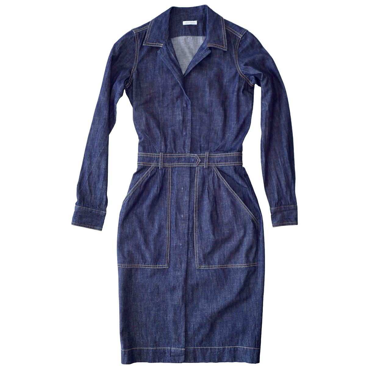 Tomas Maier \N Kleid in  Blau Denim - Jeans
