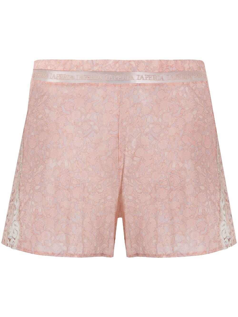Tree Of Life Silk Pajama Shorts