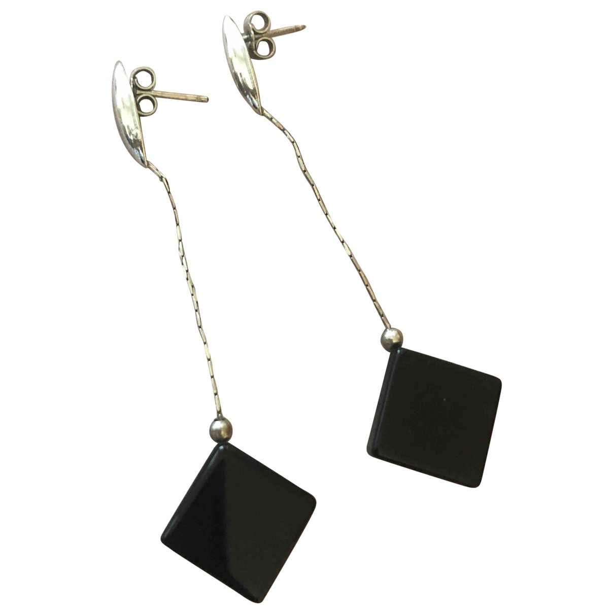 Non Signé / Unsigned \N Silver Silver Earrings for Women \N