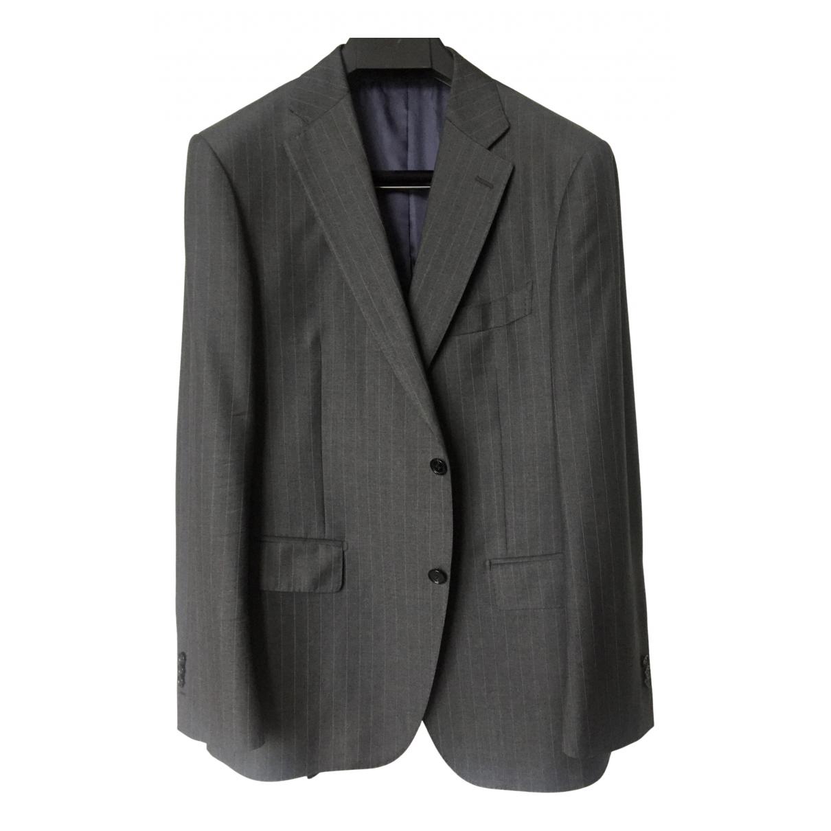 Suitsupply - Vestes.Blousons   pour homme en laine - gris