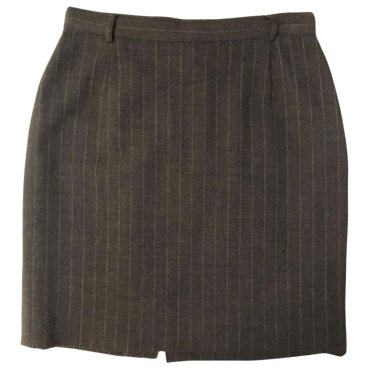 Cantarelli - Jupe   pour femme en laine - gris