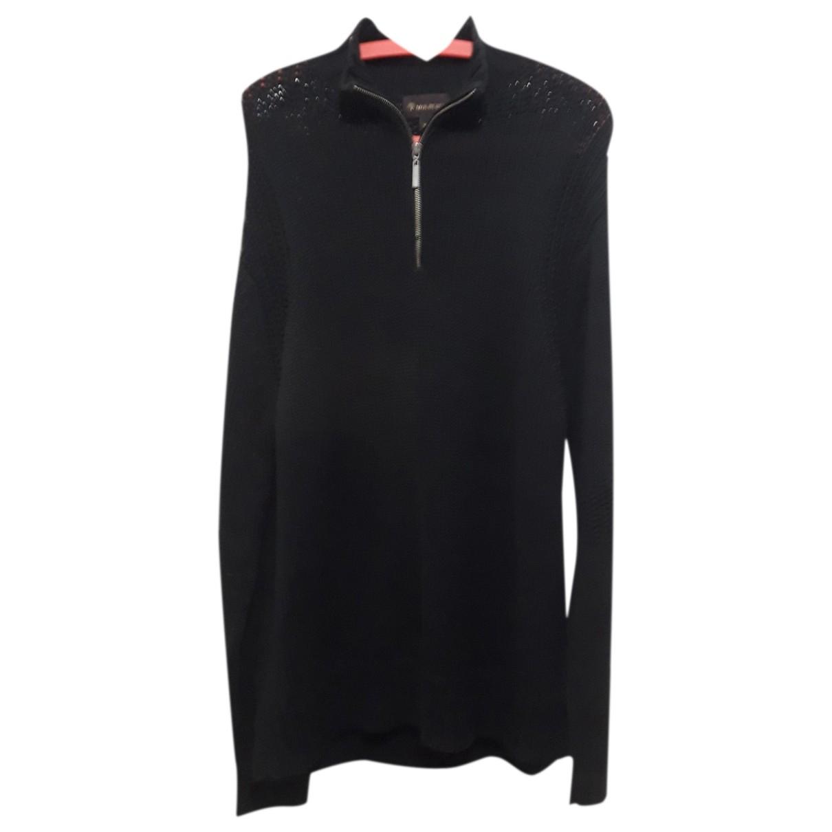Mulberry \N Pullover.Westen.Sweatshirts  in  Schwarz Baumwolle