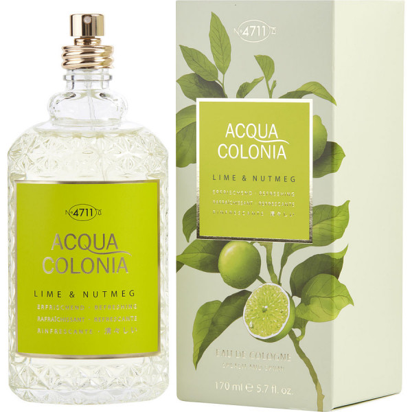 Acqua Colonia Citron vert & Noix de Muscade - 4711 Colonia en espray 170 ML