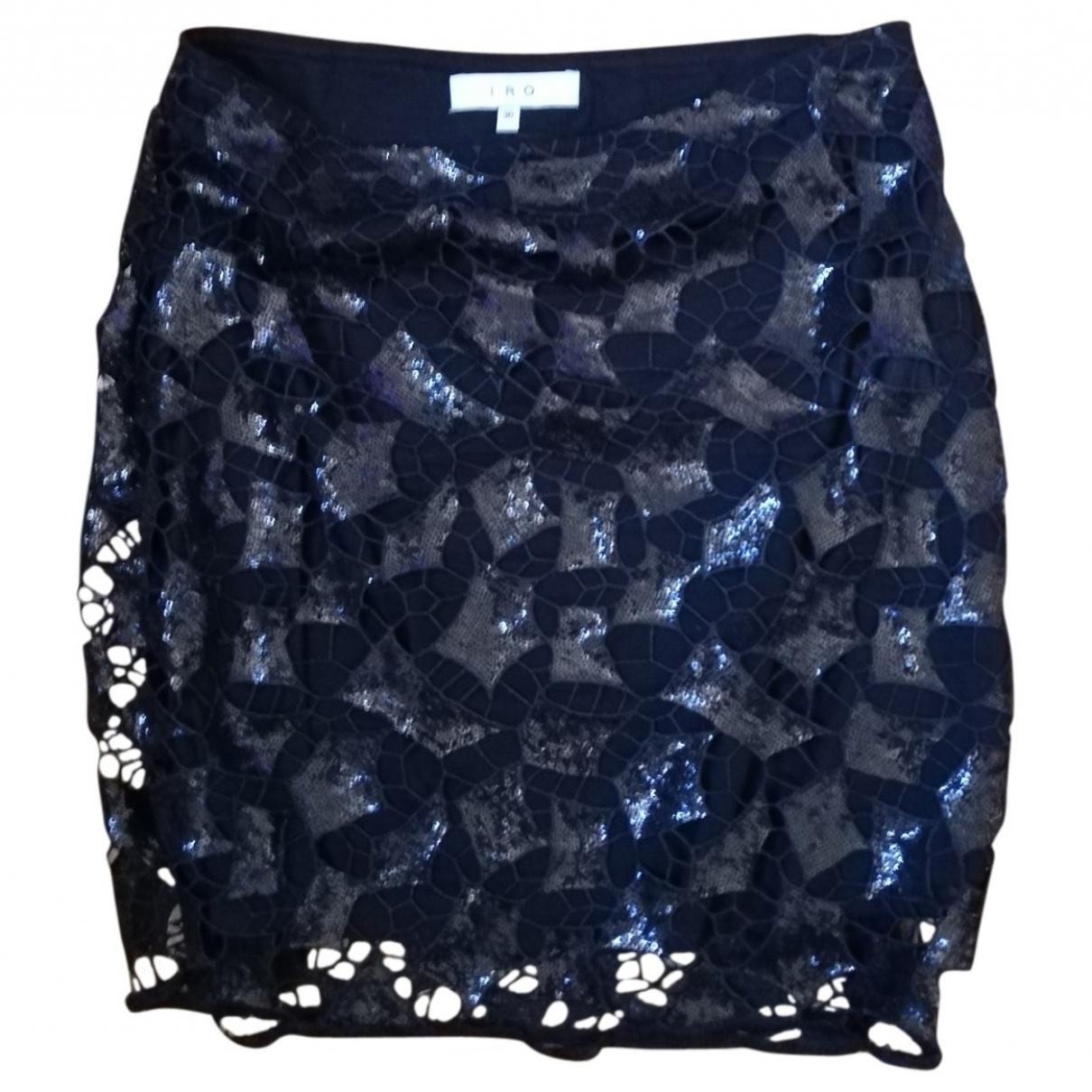 Iro \N Black Glitter skirt for Women 36 FR