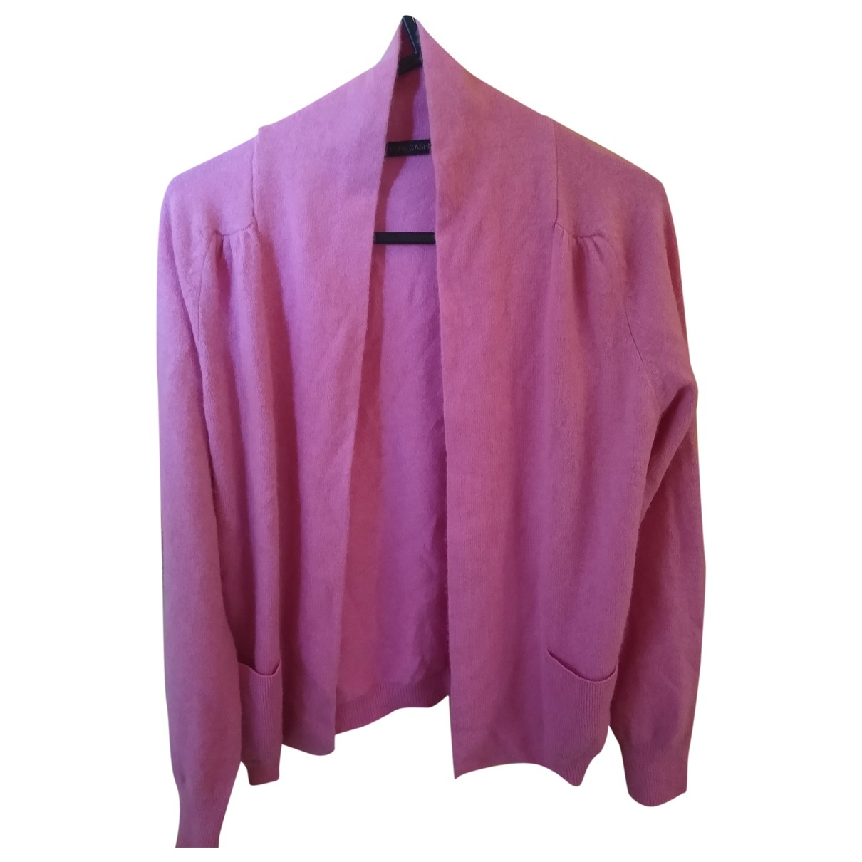 Non Signe / Unsigned \N Pullover in  Rosa Kaschmir