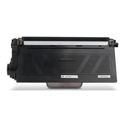 Compatible Brother TN720 Black Toner Cartridge by Moustache, 2 Pack
