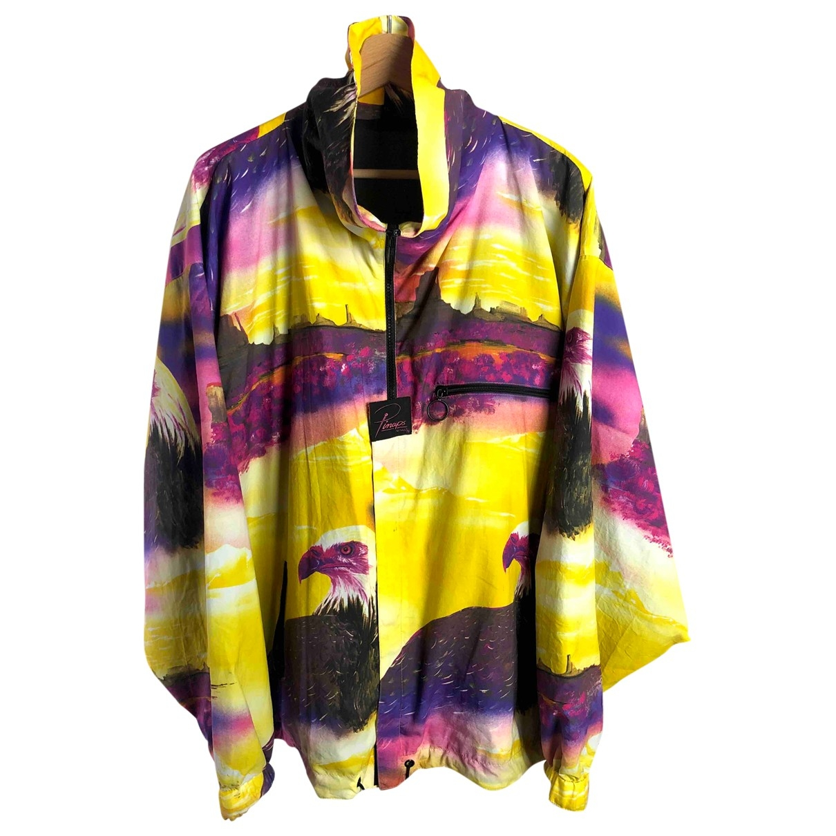 Non Signé / Unsigned Oversize Yellow jacket  for Men XL International