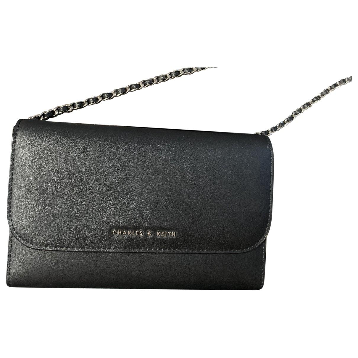 Charles & Keith \N Black Purses, wallet & cases for Women \N