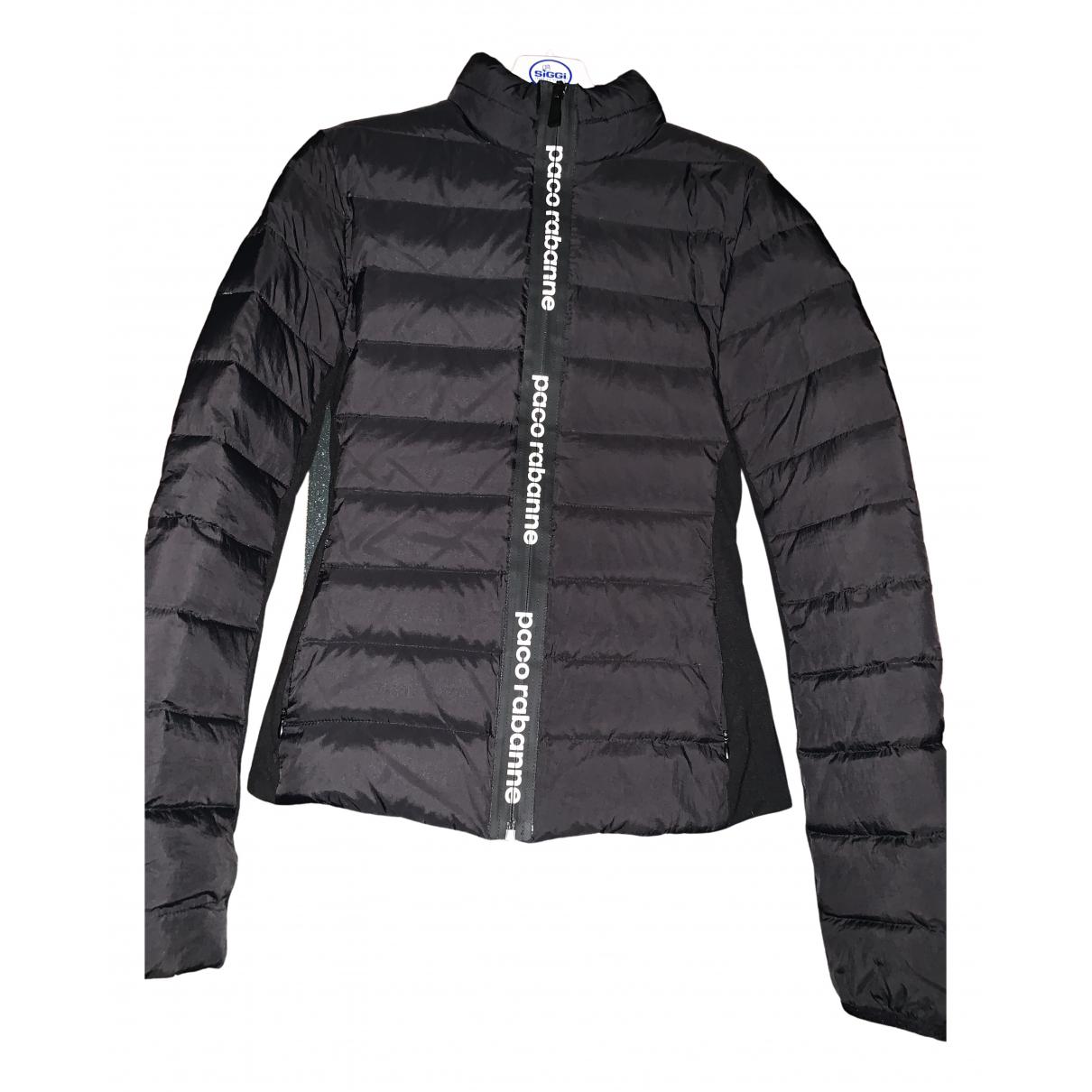 Paco Rabanne N Black coat for Women 38 IT