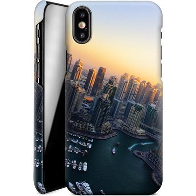 Apple iPhone XS Smartphone Huelle - Dubai Skyline von Omid Scheybani