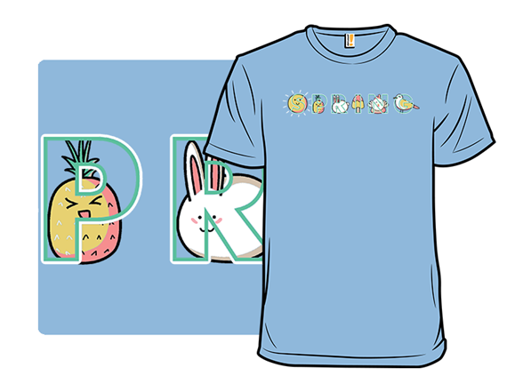 Spring Illustrated T Shirt