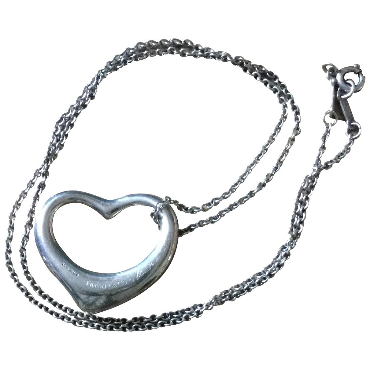 Tiffany & Co - Pendentif Elsa Peretti  pour femme en argent - argente