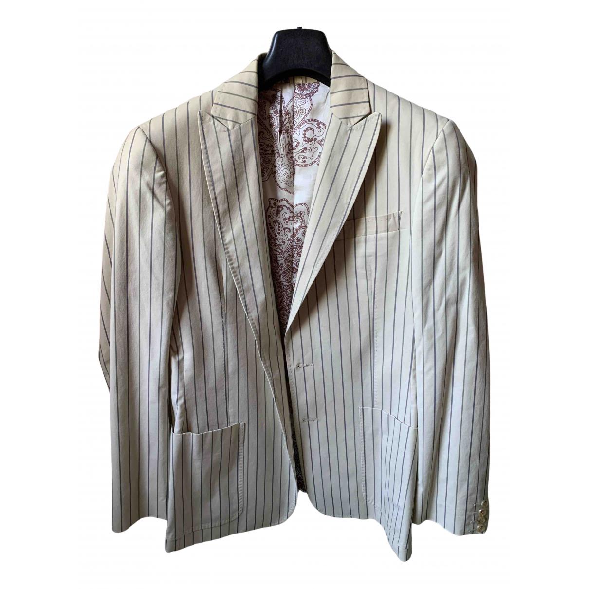 Just Cavalli - Vestes.Blousons   pour homme en coton - beige