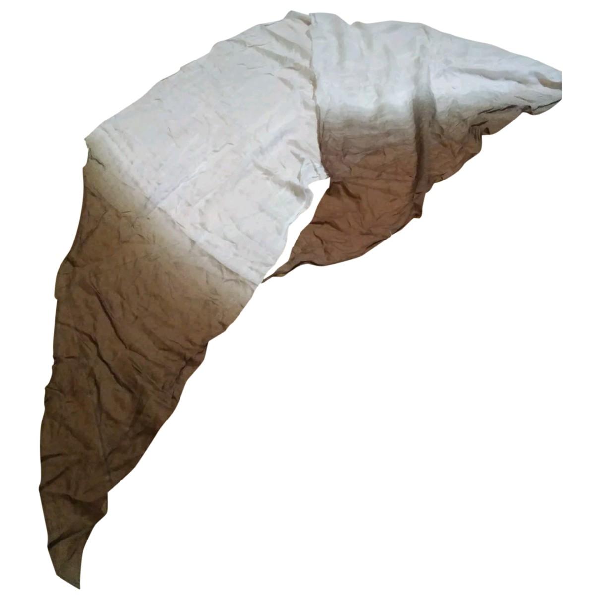 Furla - Foulard   pour femme en coton - beige