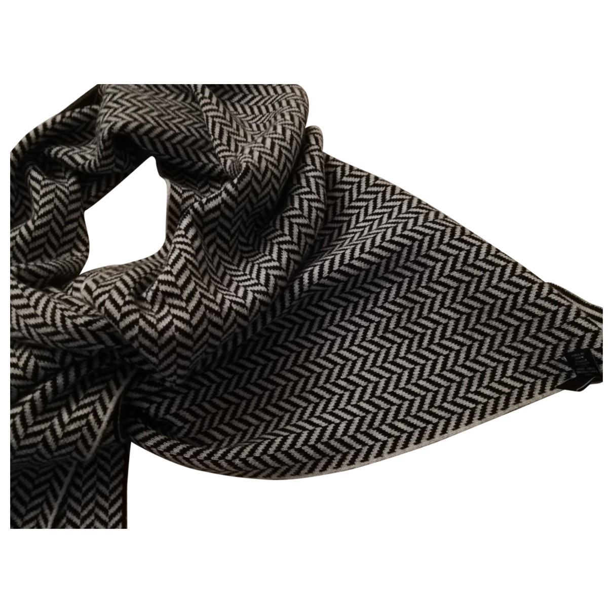 Altea \N Black Wool scarf & pocket squares for Men \N