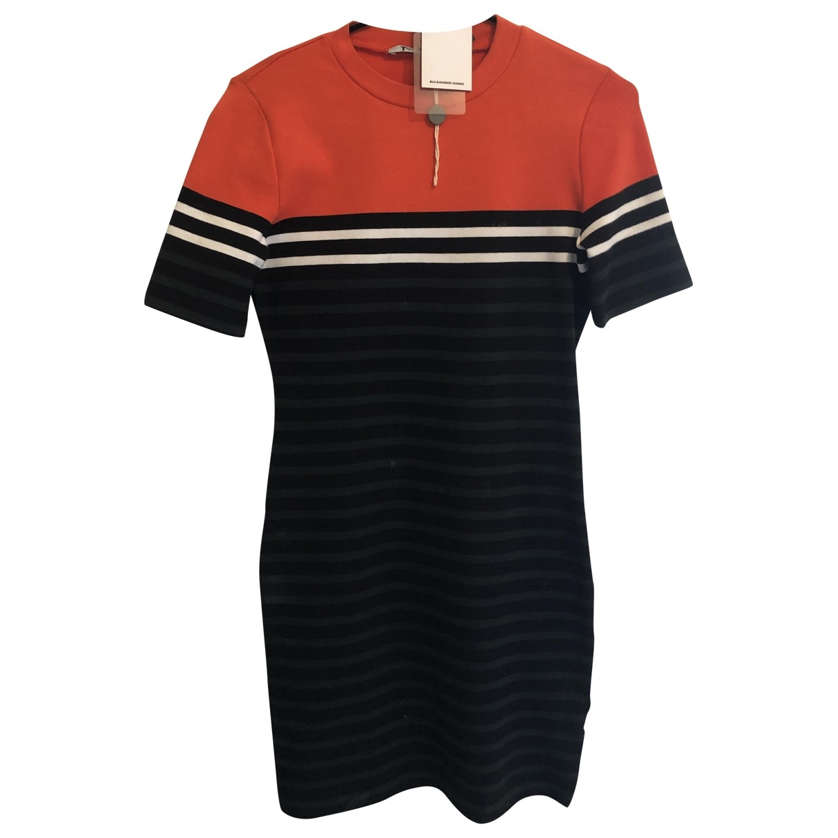 T By Alexander Wang \N Red Cotton dress for Women 36 FR