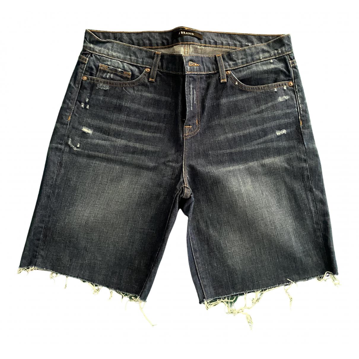 J Brand N Blue Denim - Jeans Shorts for Women 46 IT