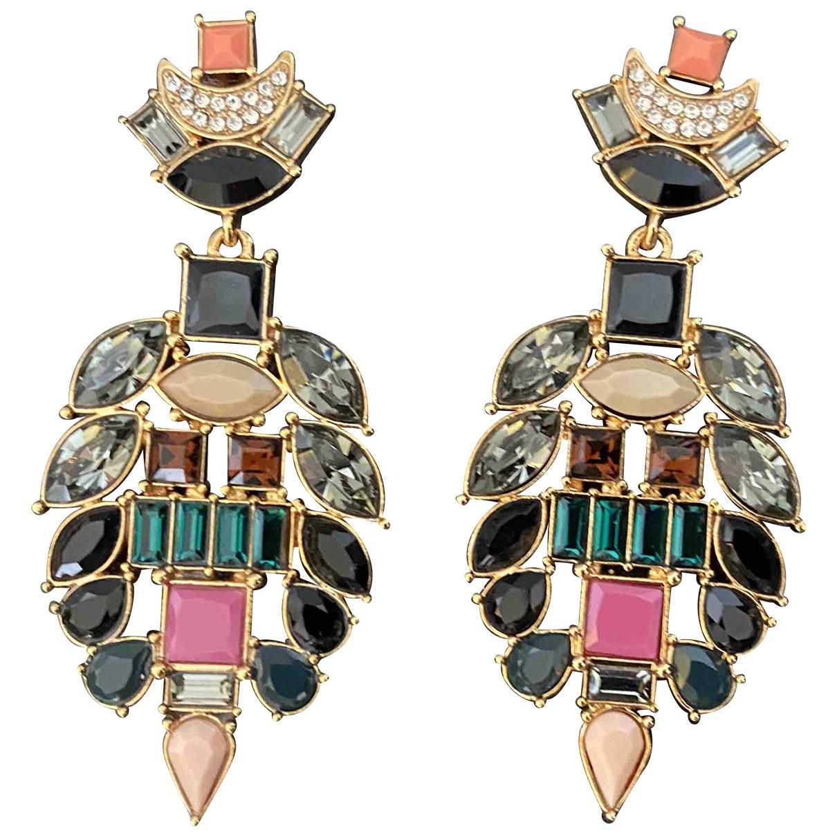Lizzie Fortunato - Boucles doreilles   pour femme en cristal - multicolore