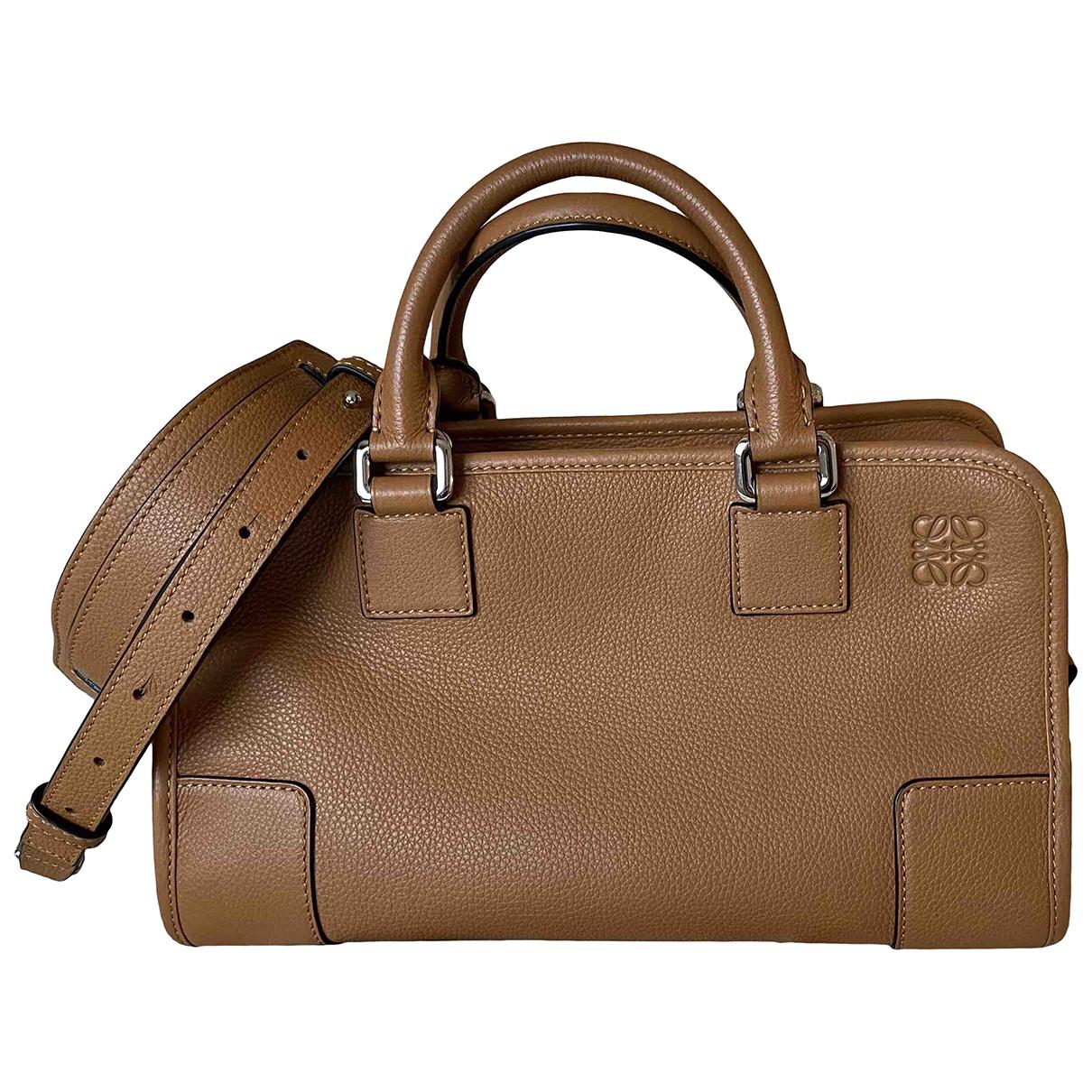 Loewe Amazona Handtasche in  Kamel Leder