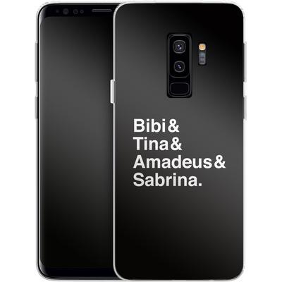 Samsung Galaxy S9 Plus Silikon Handyhuelle - Bibi&Tina&Amadeus&Sabrina von Bibi & Tina