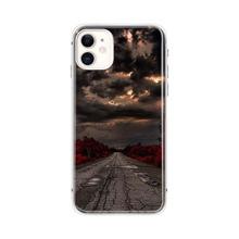 iPhone Schutzhuelle mit Landschaft Muster