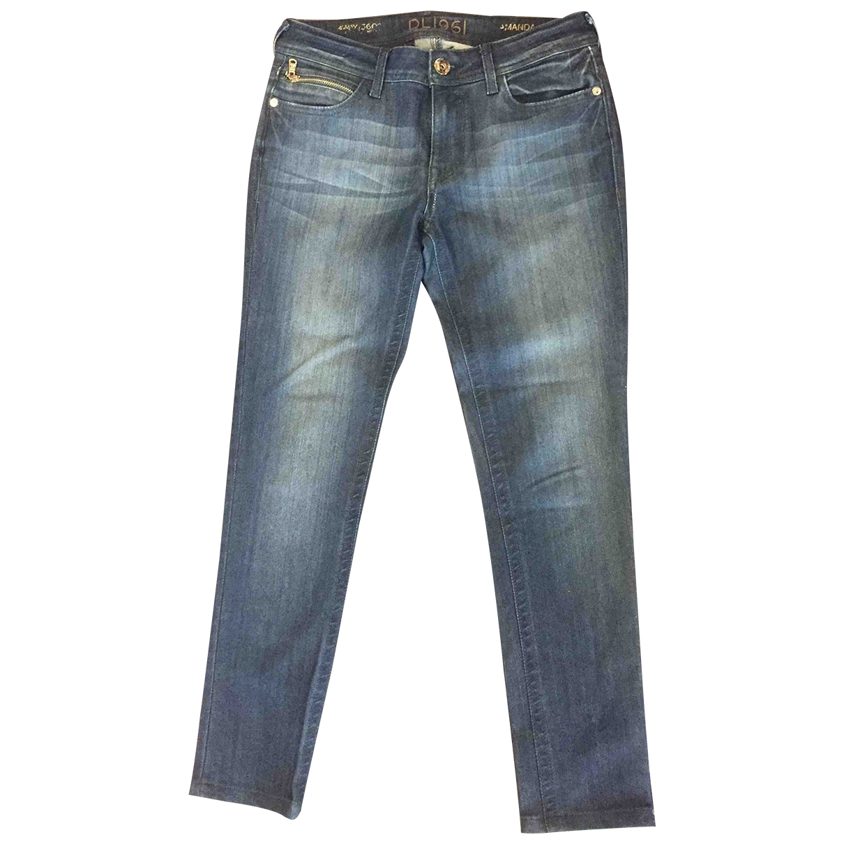 Dl1961 \N Blue Denim - Jeans Jeans for Women 28 US
