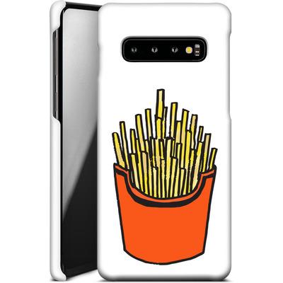 Samsung Galaxy S10 Smartphone Huelle - Fries von caseable Designs