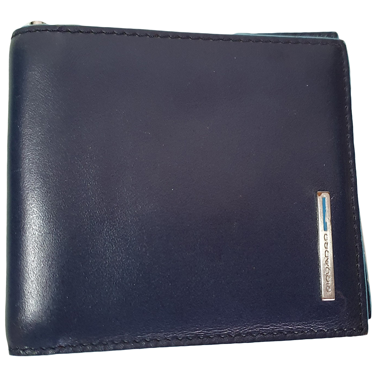 Piquadro - Petite maroquinerie   pour homme en cuir - bleu