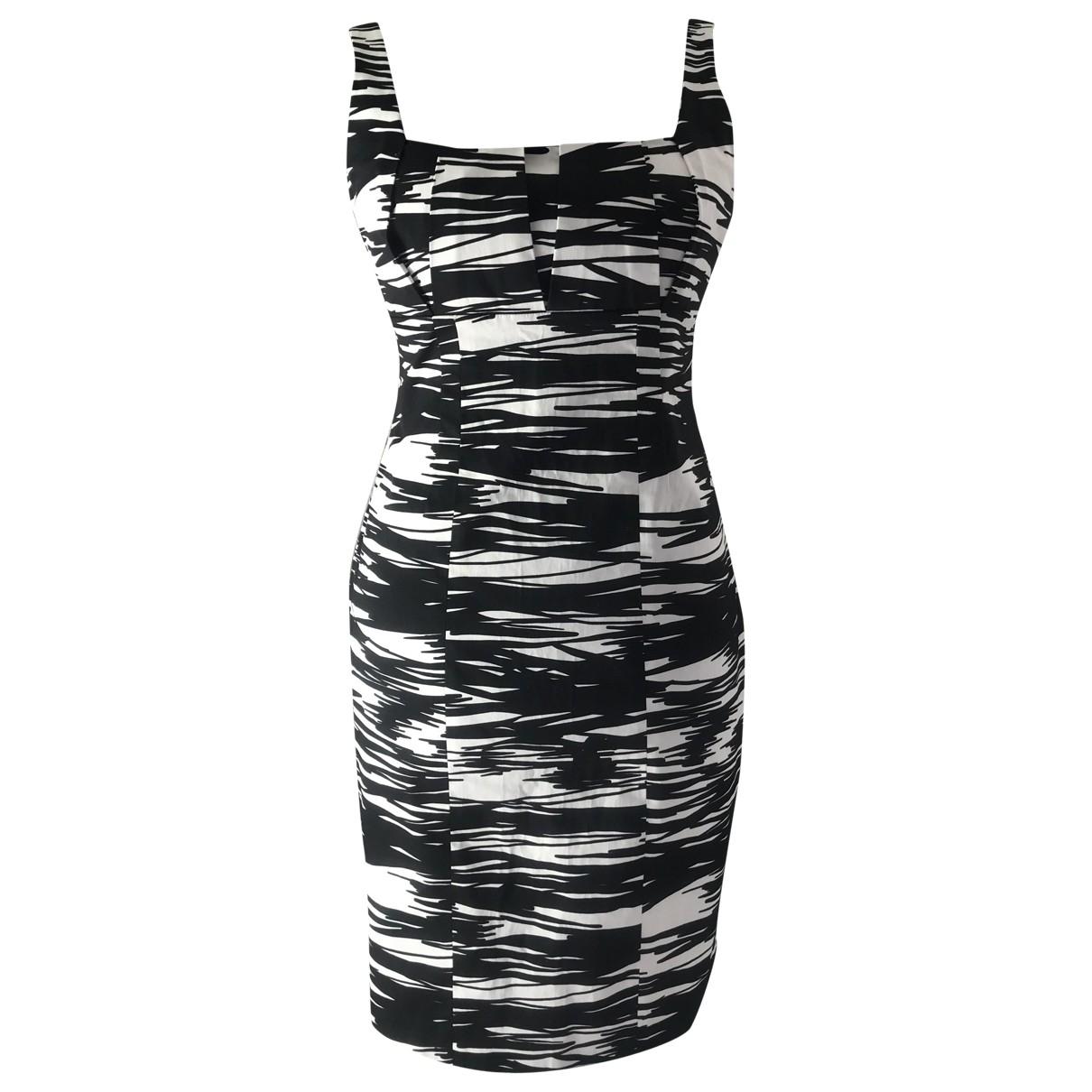 Calvin Klein - Robe   pour femme en coton - noir