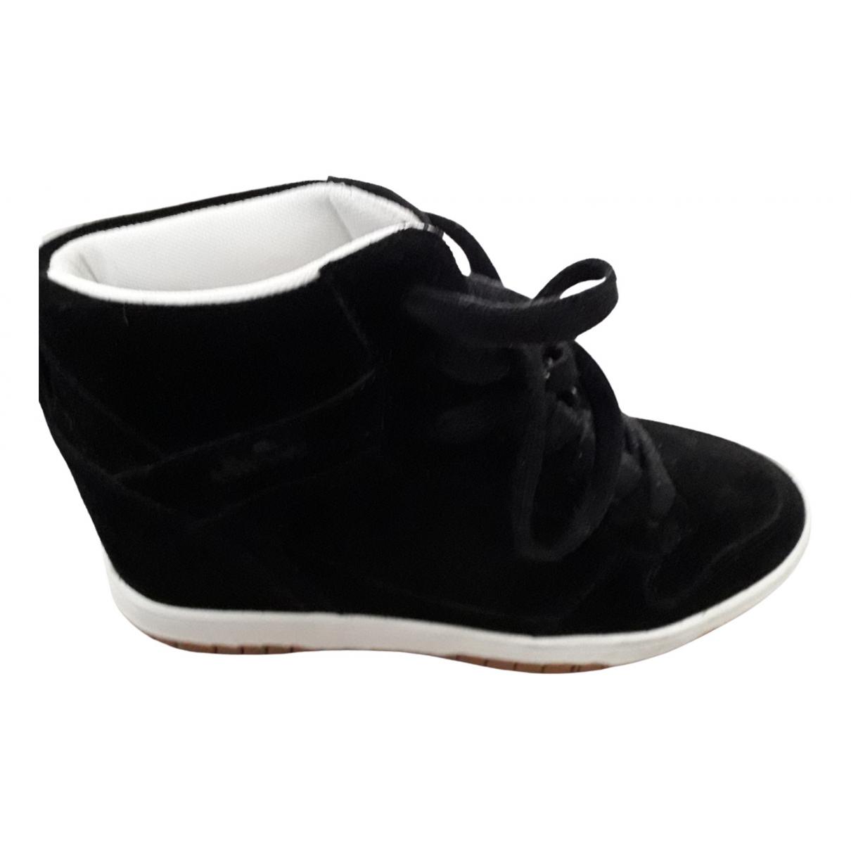 Ellesse \N Sneakers in  Schwarz Veloursleder