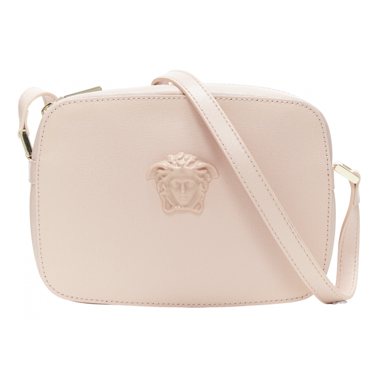 Versace N Pink Leather Clutch bag for Women N