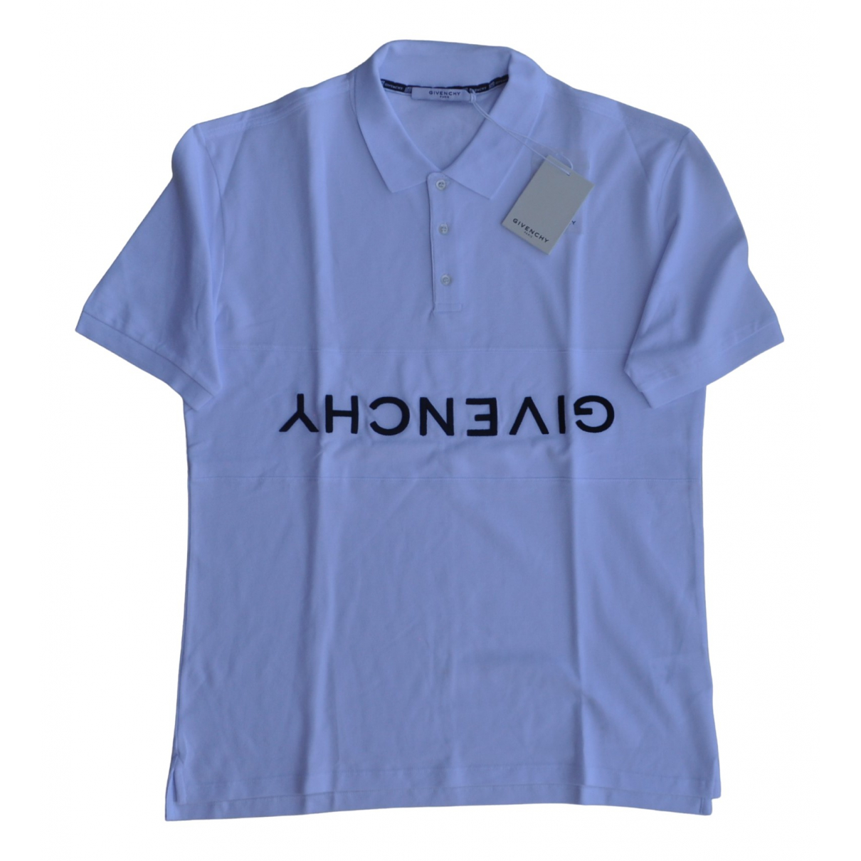 Givenchy \N White Cotton Polo shirts for Men XXL International