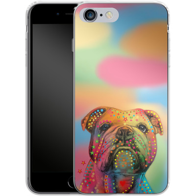 Apple iPhone 6 Plus Silikon Handyhuelle - Bulldog von Mark Ashkenazi