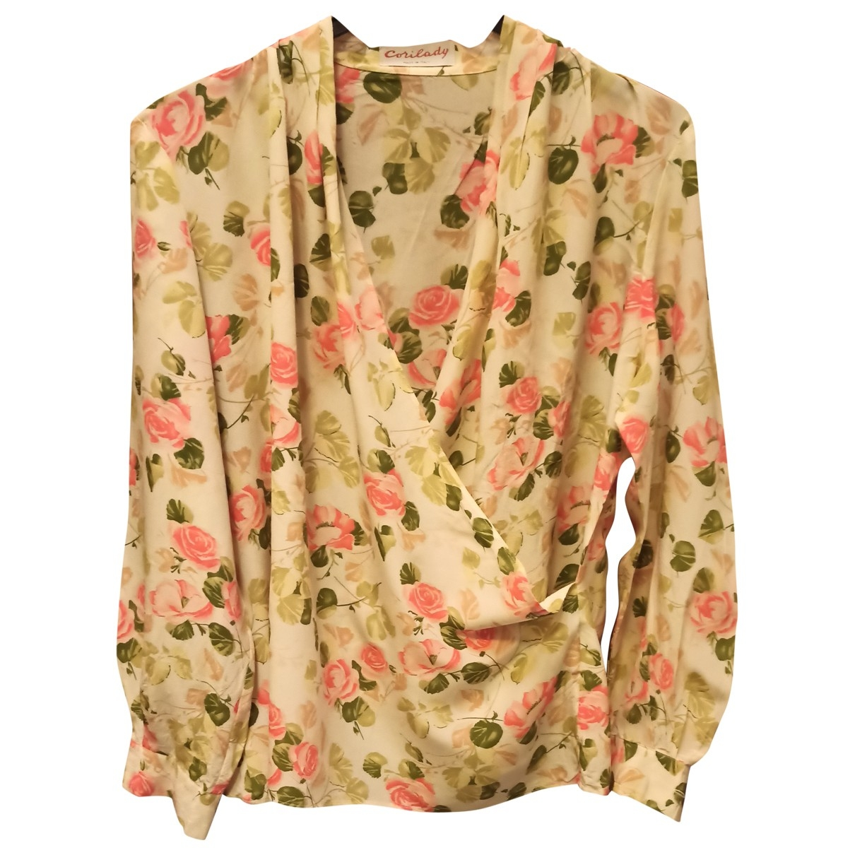 Non Signé / Unsigned \N Multicolour Silk  top for Women M International
