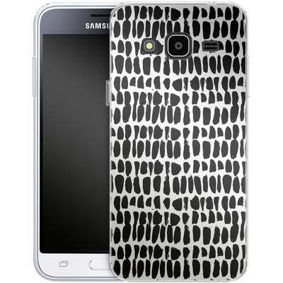 Samsung Galaxy J3 (2016) Silikon Handyhuelle - Flecked von Jenna Kunnas