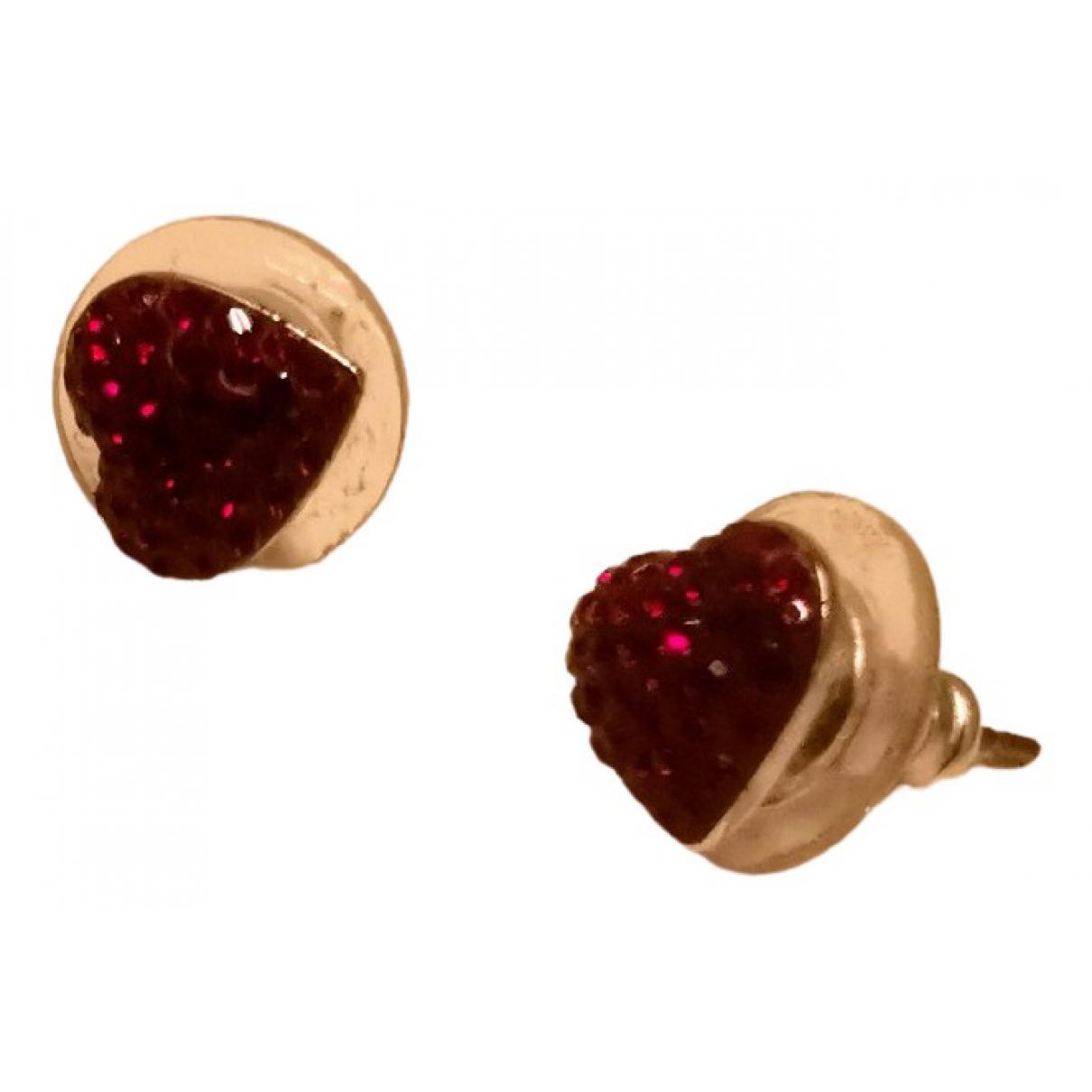 Swarovski \N Red Steel Earrings for Women \N
