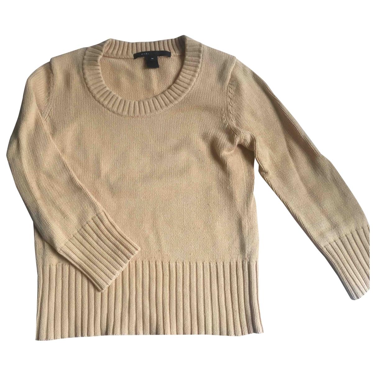 Marc Jacobs \N Pullover in  Gelb Baumwolle