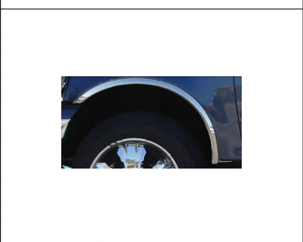 Quality Automotive Accessories 4-Piece Stainless Steel Wheel Well Fender Ford Expedition 2003
