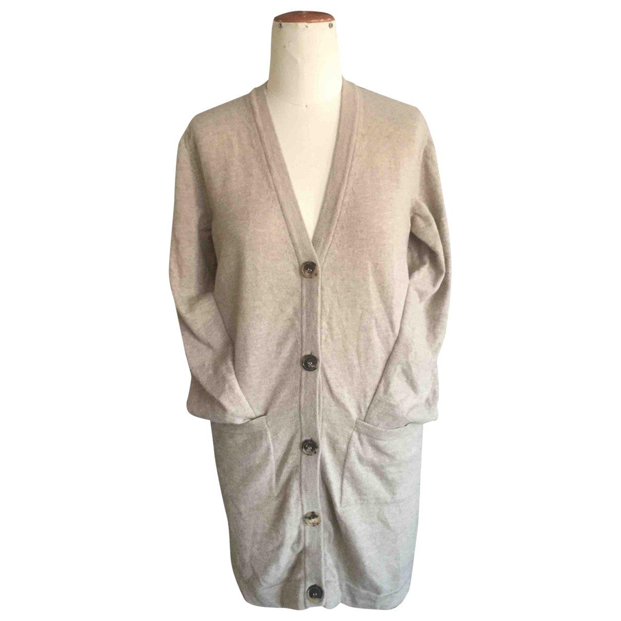 Maison Martin Margiela - Pull   pour femme en laine - beige