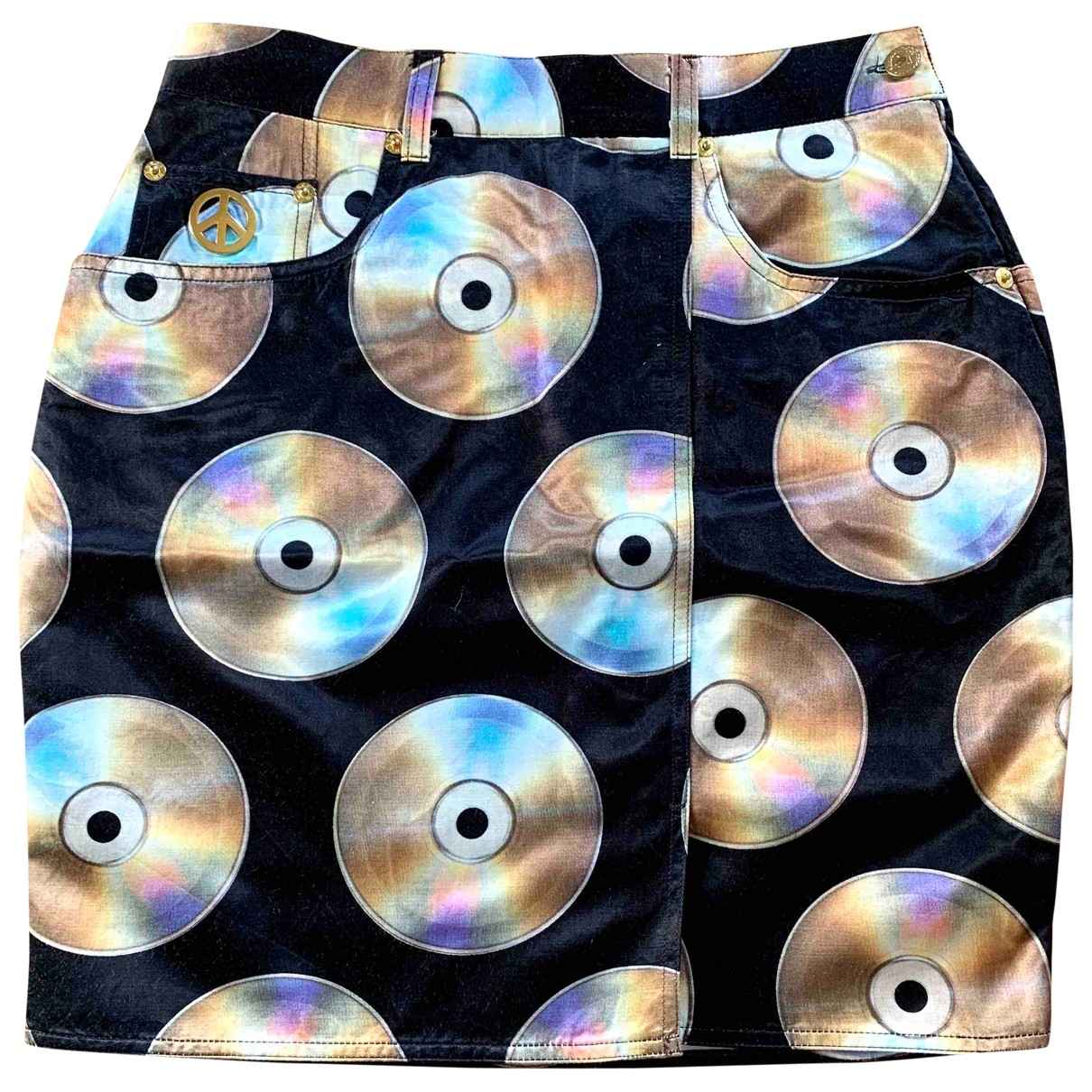 Moschino \N Black Cotton skirt for Women 44 IT