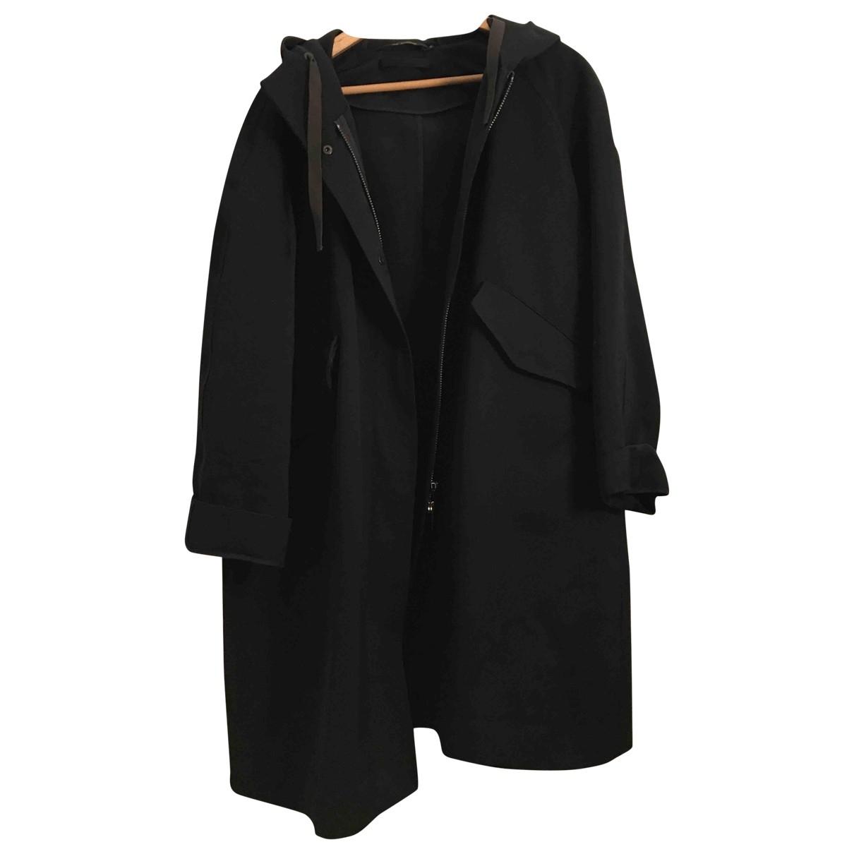 Sofie Dhoore - Manteau   pour femme en laine - noir