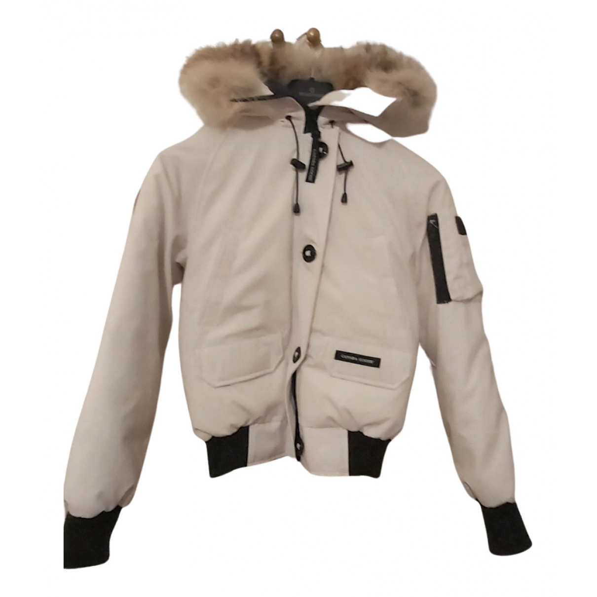 Canada Goose Chilliwack Jacke in  Weiss Polyester
