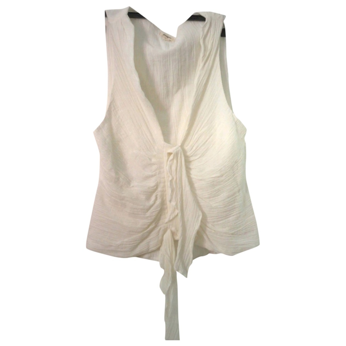 Gimaguas N White Cotton  top for Women L International
