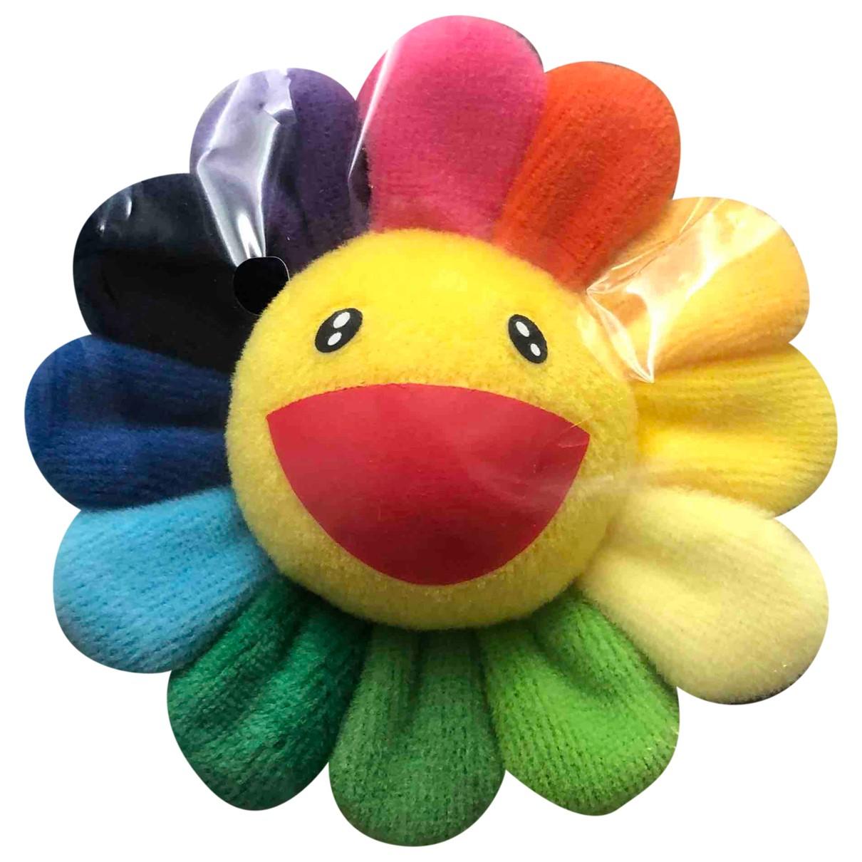 Takashi Murakami - Broche   pour femme en toile - multicolore