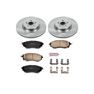 Power Stop 1-Click OE Replacement Front Brake Kits - KOE285