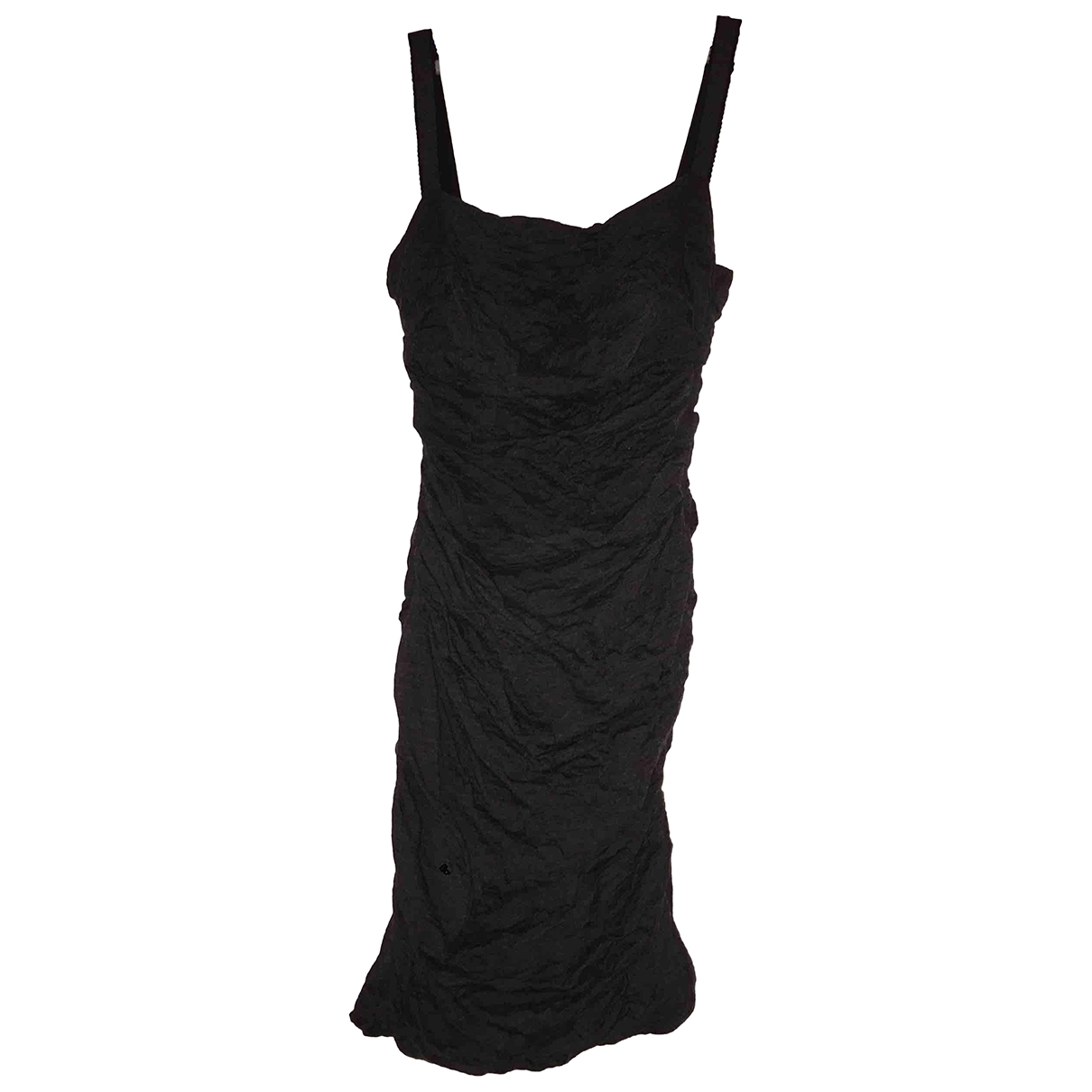 Dolce & Gabbana \N Anthracite Wool dress for Women 42 IT