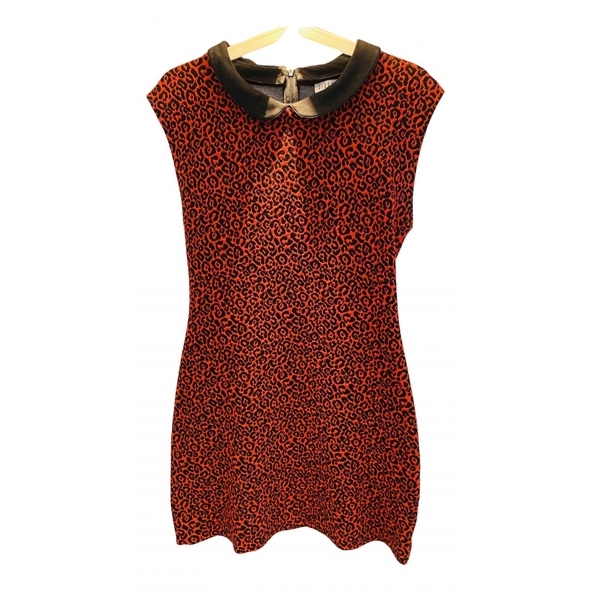 Claudie Pierlot \N Kleid in  Rot Baumwolle - Elasthan