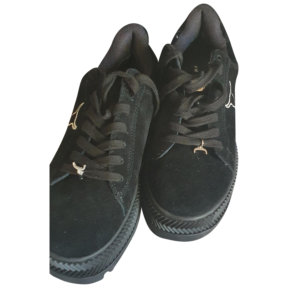 Windsor Smith \N Sneakers in  Schwarz Veloursleder